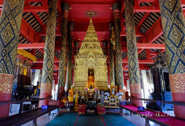 Le Ku (กู่) abritant le bouddha sacré