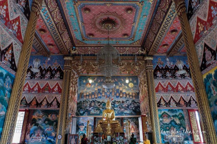Le superbe intérieur et ses peintures