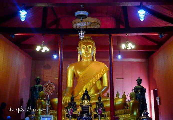 Le bouddha de l'Ubosot
