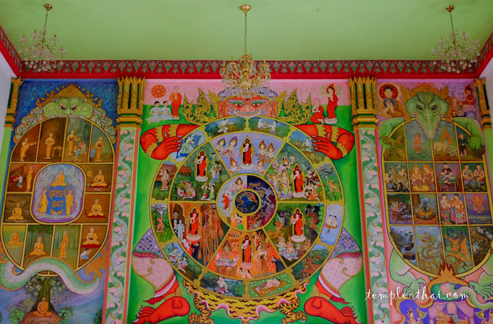Peintures murales colorées