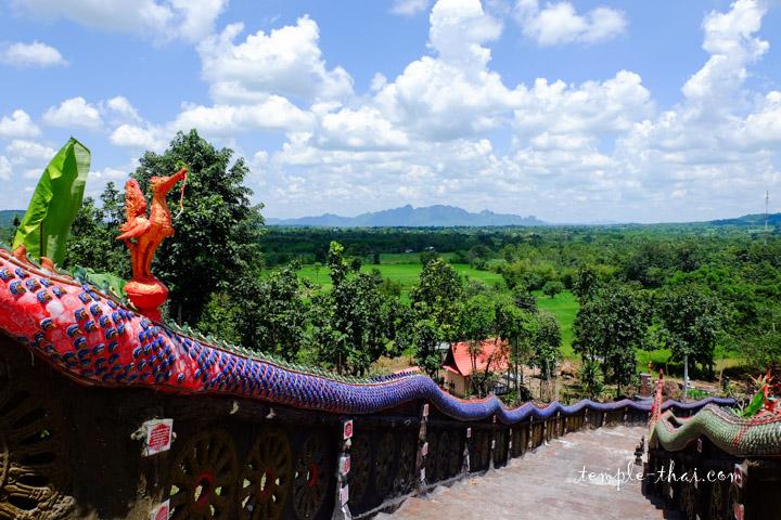 Panorama depuis le bouddha
