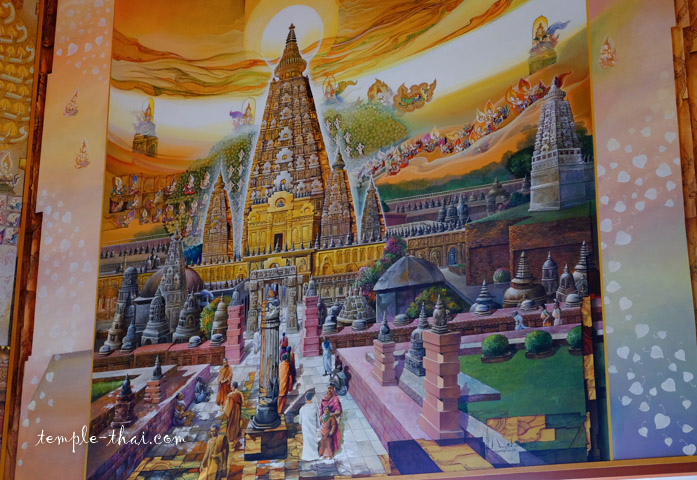 Temple de la Mahabodhi, lieu de l'éveil spirituel du Bouddha