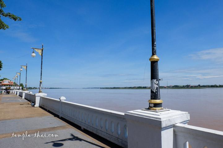 Fleuve Mékong à Mukdahan
