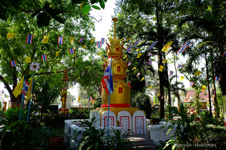 Stupa annexe