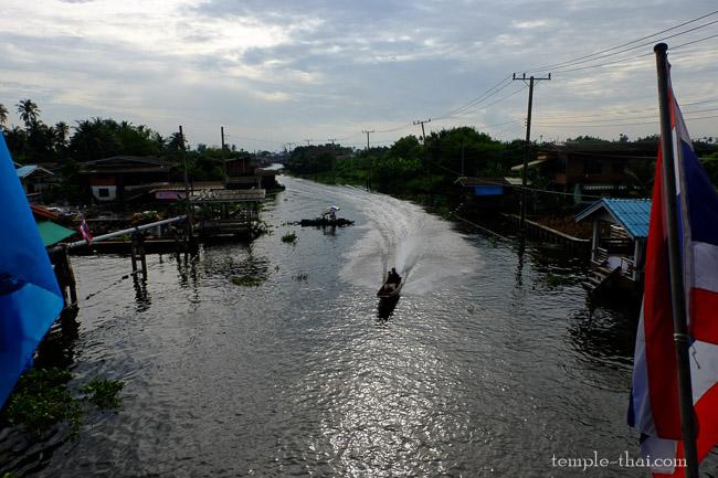 Le canal Bang Yaï au petit matin