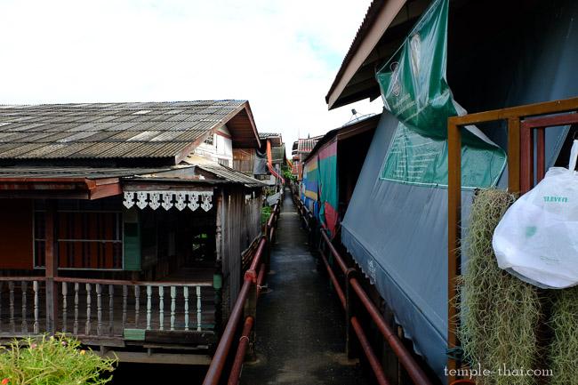 Village semi-flottant
