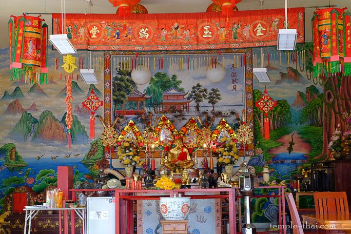 Sanctuaire chinois à Bangkok