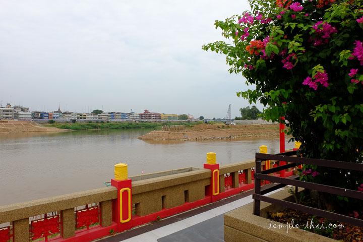 Les rivières Ping et Nan se rejoignent