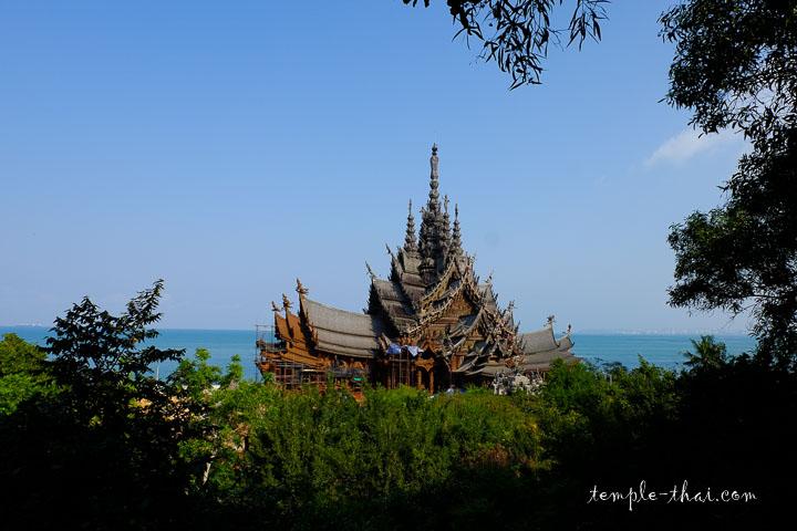 Le sanctuaire face à la mer