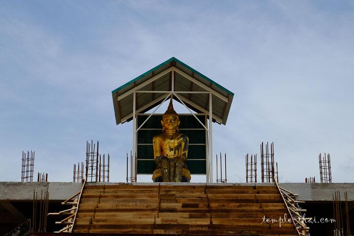 Le bouddha sacré dans la posture Palelaï (ปางปาลิไลยก์)