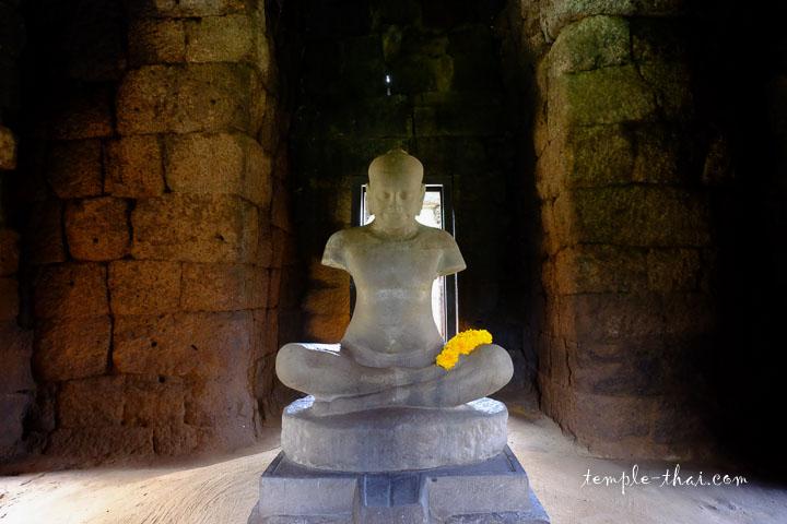 Statue de Jayavarnam VII