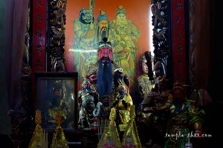 Guanyu dans son sanctuaire