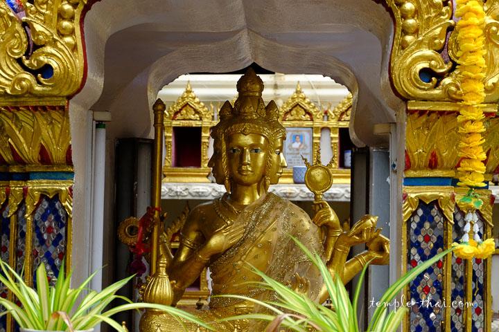 La divinité Brahma, ou Phra Phrom en thaïlandais (พระพรหม)