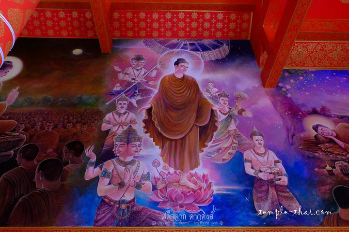 Peinture moderne du Bouddha