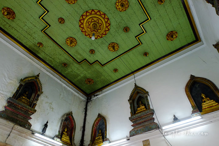 Plafond vert pastel
