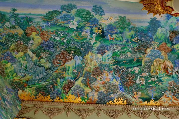 échantillons des peintures murales