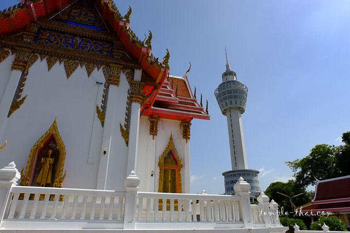 La tour d'observation de Pak Nam