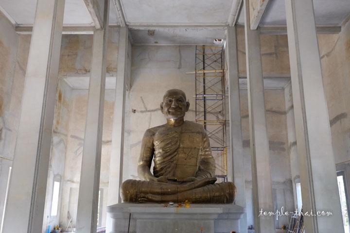Statue de Luang Po Pan (หลวงพ่อปาน)