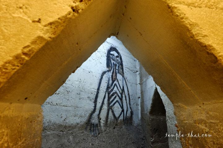 Dans le sous-sol de l'Ubosot...
