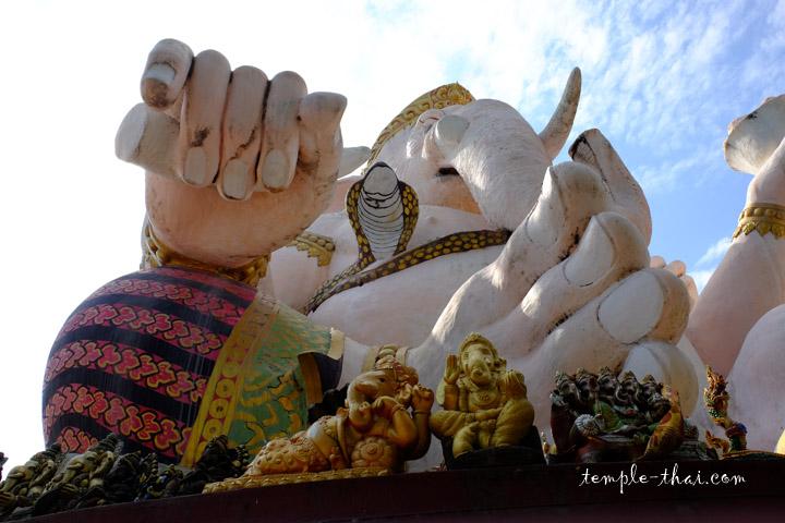 Ganesh vu de dessous