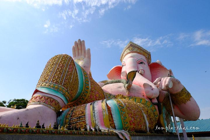 Ganesh allongé
