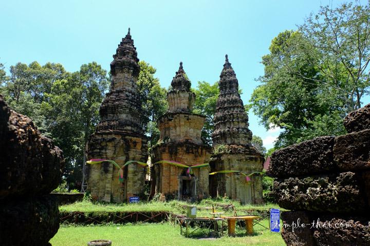 Vestiges khmer