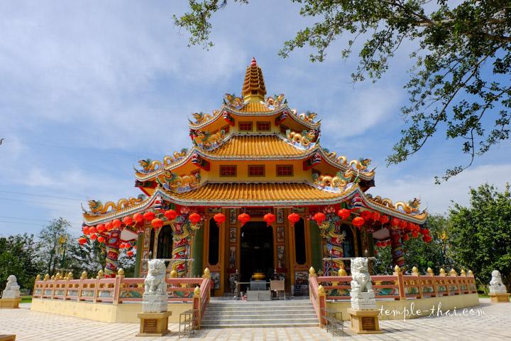 Le pavillon chinois jouxte le Montop