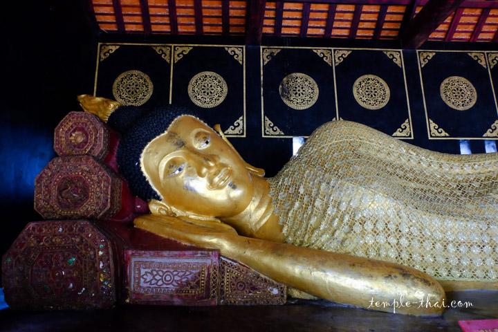 bouddha couché Chiang Mai