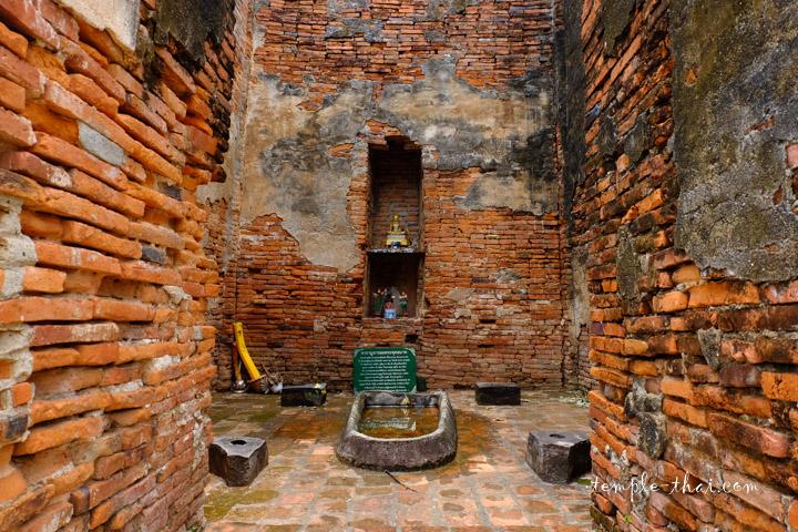Les vestiges du Montop et son empreinte du Bouddha