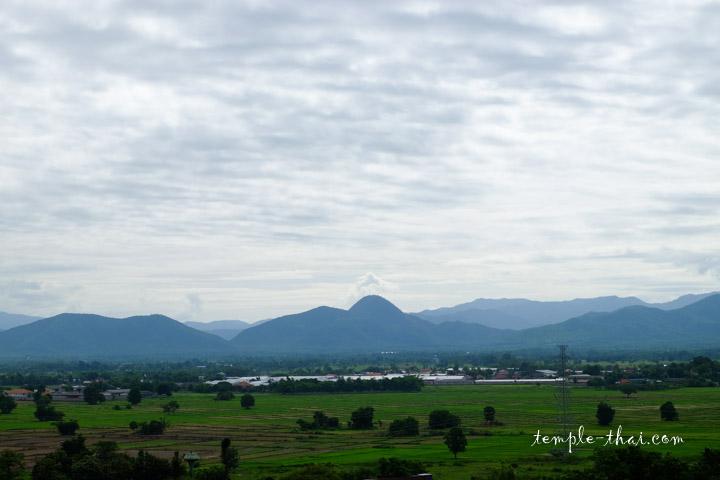 Panorama depuis la statue de Kru Ba Siwichai
