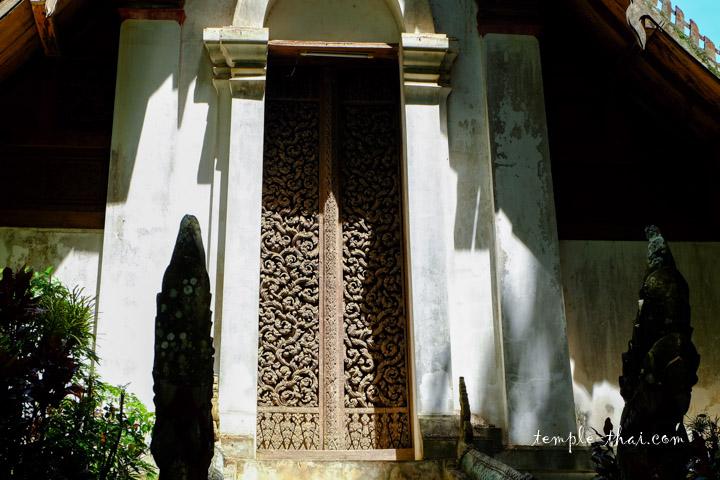 La célèbre porte