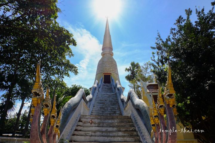 Le Chedi et son escalier d'accès original