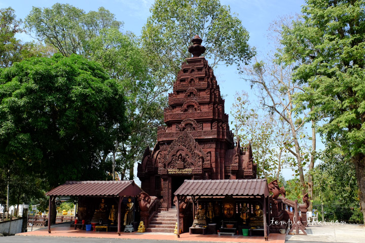Le Prasat (ปราสาท), style néo-khmer