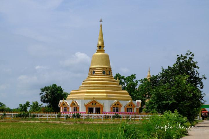 Le stupa doré