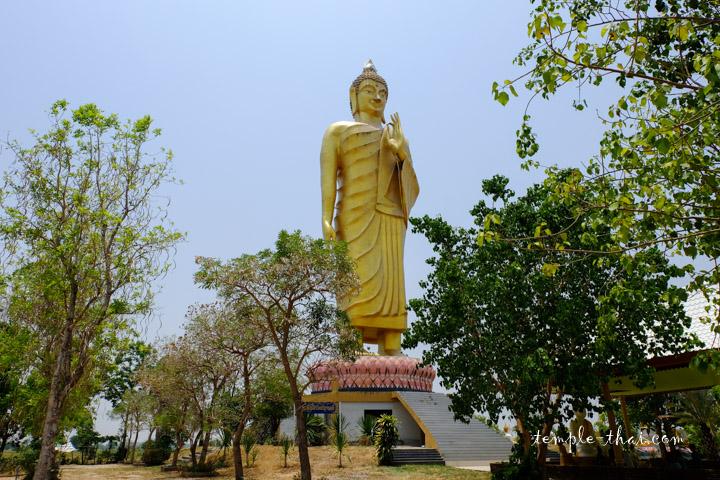 L'immense bouddha debout