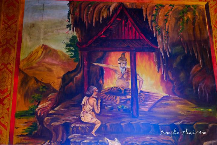Scène d'un jataka