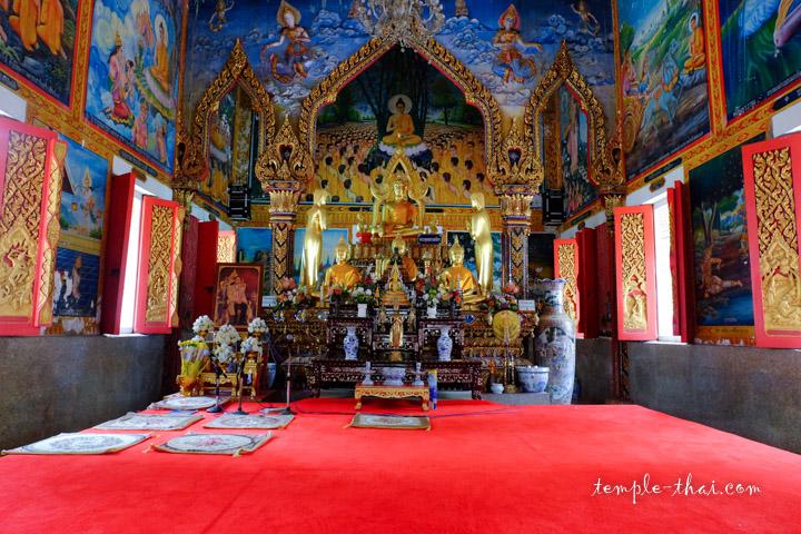 L'Ubosot et son bouddha principal