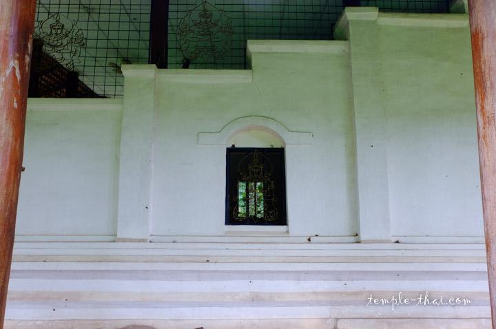 mur en escalier