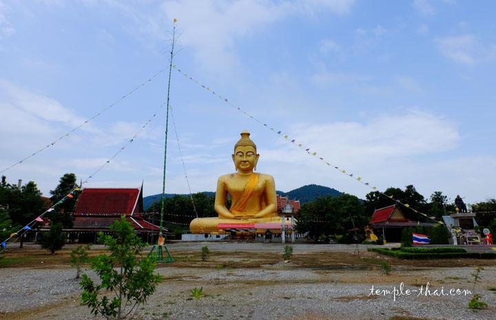 Le bouddha géant vu depuis la route