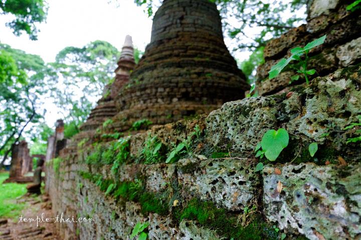 Base des stupas