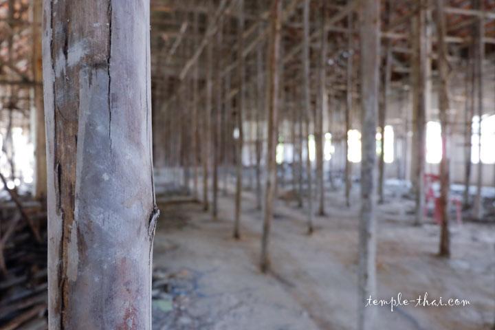 échauffage en bambou