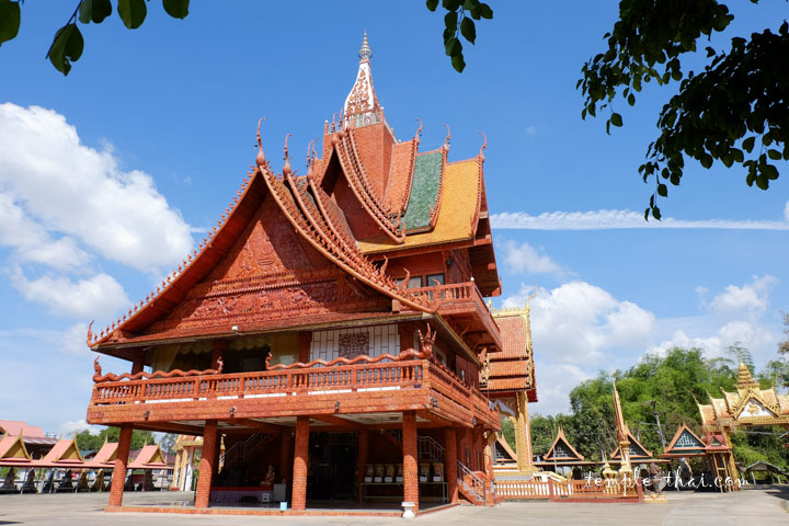 Stupa atypique