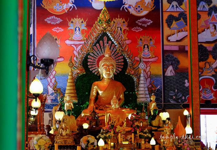 Phra Phuttha Chom Muang (พระพุทธจอมเมือง)