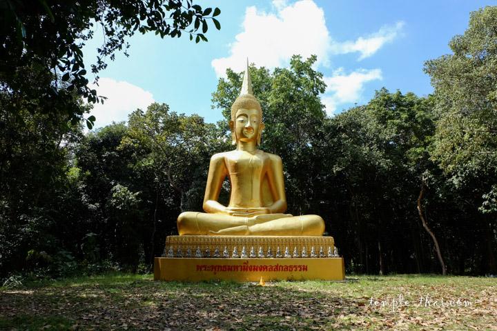 bouddha géant dans la nature