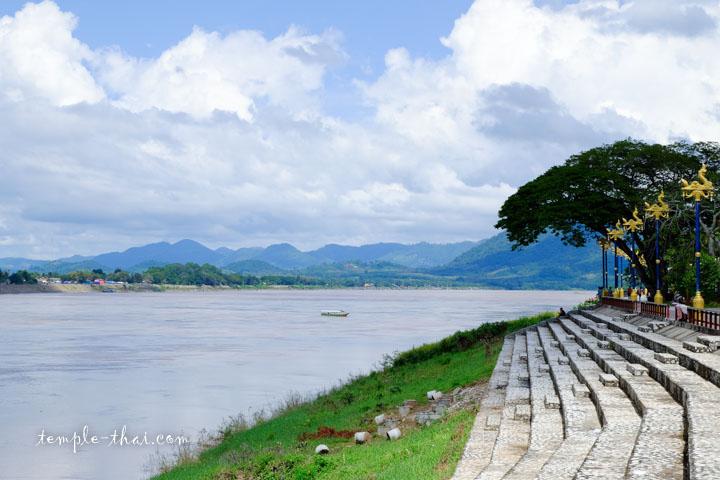 Fleuve Mékong à Chiang Khan