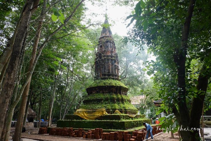 Stupa historique à Nong Khai
