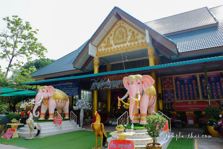 Entrée du Viharn du bouddha allongé