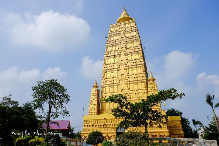 Réplique du temple de la Mahabodhi