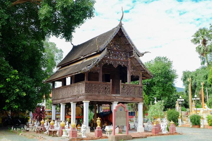 bibliothèque sur pilotis, le trésor du temple