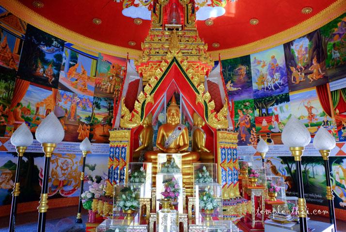 Le stupa, ses peintures murales et ses reliques